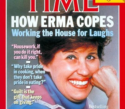 "Erma Bombeck, ""The Grass Is Always Greener Over the Septic Tank,"""