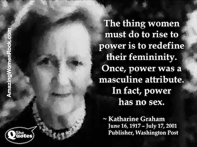 The Post and Katharine Graham, 20th Century Warrior