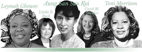 Nobel Laureate Women 1901-2017 And an Environmental Hero