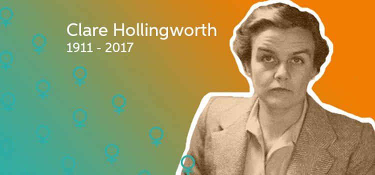 Clare Hollingsworth, British Journalist Extraordinaire