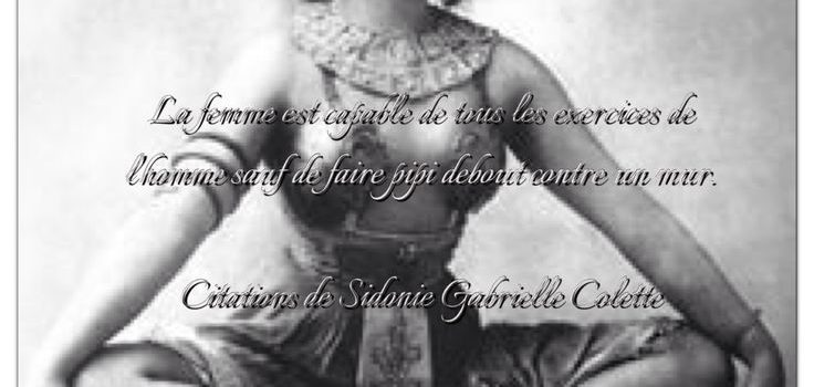 Colette, Woman of Many Words